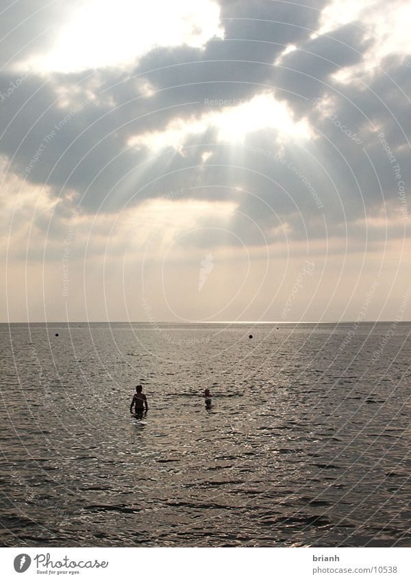 Nordsee 1 Sommer Wolken Nordsee