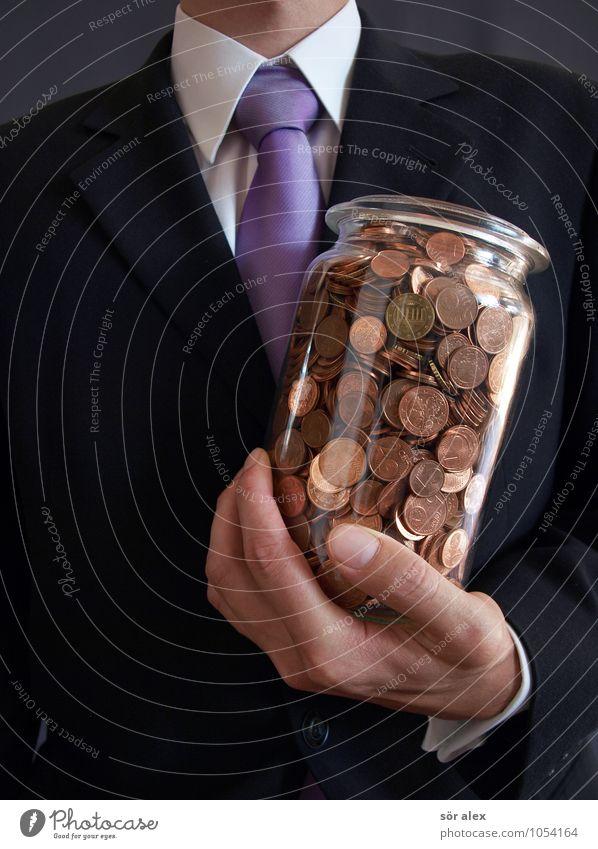 Erntedank Mensch Mann Hand schwarz Erwachsene maskulin Büro elegant Erfolg Beruf Geldinstitut Wirtschaft Karriere Kapitalwirtschaft Geldmünzen Börse