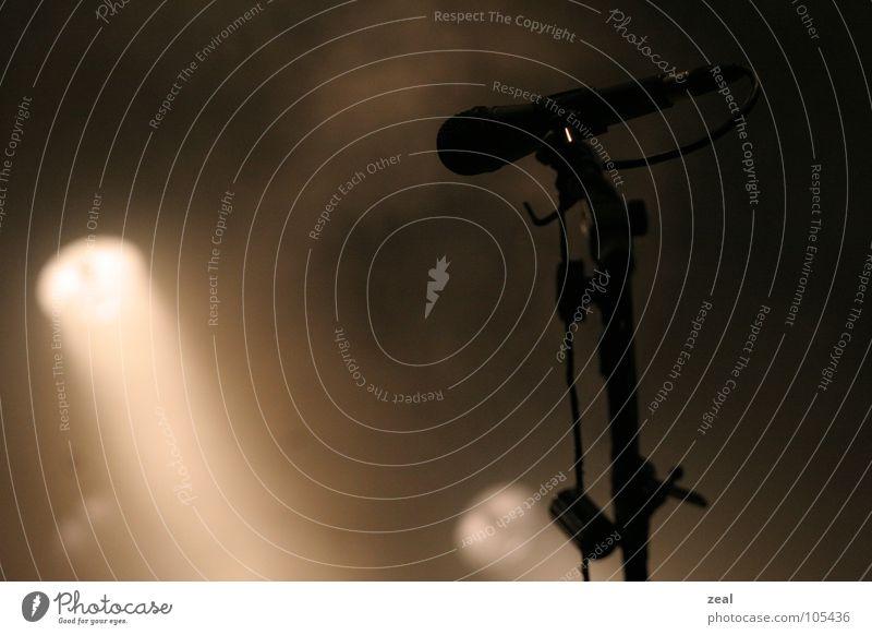 ::.. micro - phone ..:: Mikrofon Konzert Licht Stimmung Open Air Sänger Musik Klang mikrofonständer