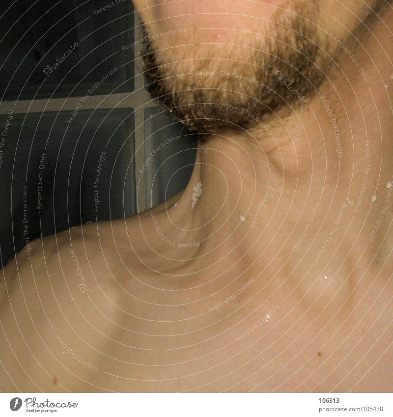 BR*VO STARSCHNITT [3/3] Körper Haare & Frisuren Haut Mensch Mann Erwachsene Bart Wasser Wassertropfen nackt nass Macht Starschnitt Kinn Schulter Gelenk Skelett