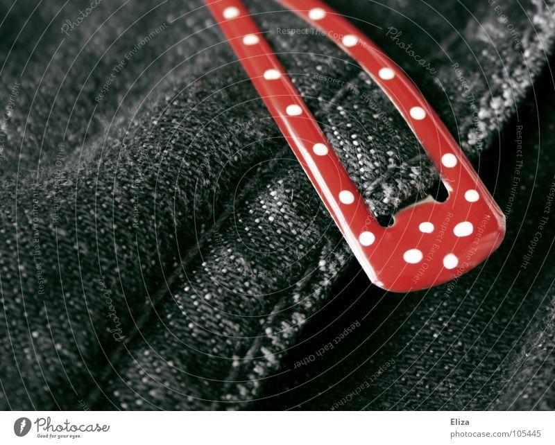 Fliegenpilz weiß schön rot schwarz Spielen Haare & Frisuren Stil Mode Feste & Feiern außergewöhnlich süß Bekleidung Jeanshose Punkt trendy Erinnerung