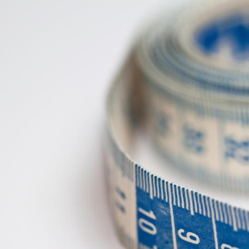 Ideal Maß blau weiß Gesunde Ernährung Leben Bewegung Sport Gesundheit Gesundheitswesen Erfolg einzigartig Fitness Kunststoff Wohlgefühl sportlich Mut