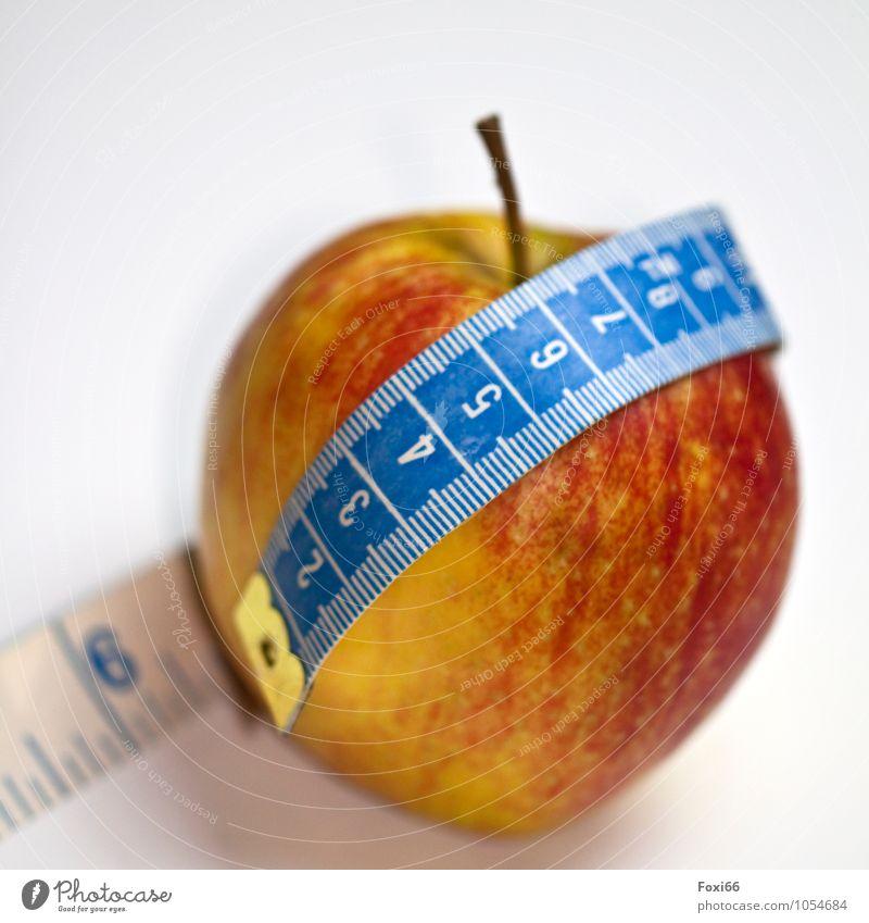 Fastenzeit blau schön weiß rot Gesunde Ernährung gelb Gesundheit Lebensmittel Metall Frucht frisch Fitness rund Wellness Kunststoff