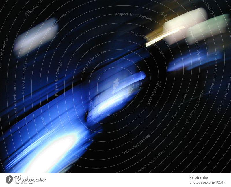 Blue motion blur blau Stil Geschwindigkeit