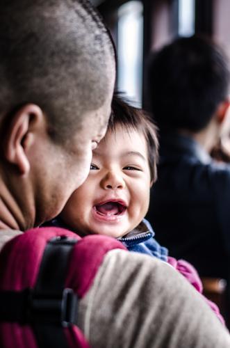 Long and Tao #3 Mensch maskulin Kind Baby Kleinkind Junge Mann Erwachsene Eltern Vater Familie & Verwandtschaft Kindheit 2 0-12 Monate 1-3 Jahre genießen