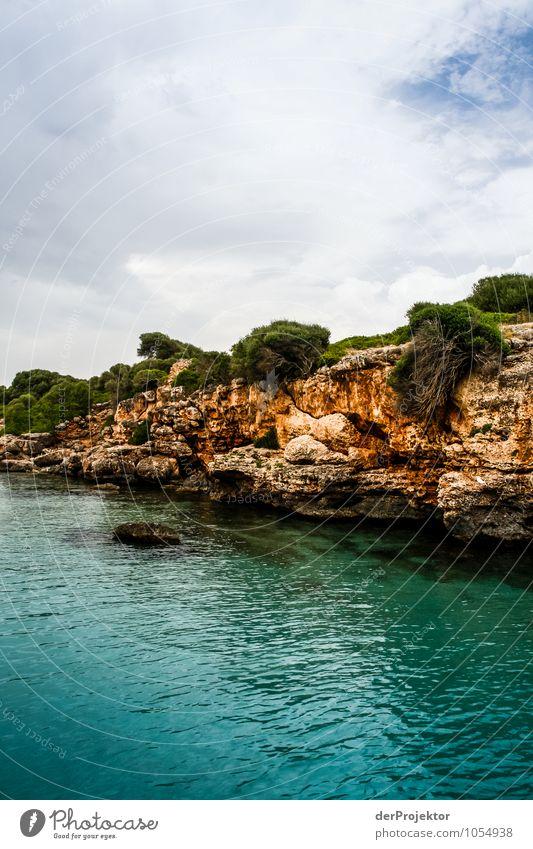Mallorca von seiner schönen Seite 28 – kleine Bucht Natur Ferien & Urlaub & Reisen Pflanze Sommer Meer Landschaft Ferne Strand Umwelt Gefühle Küste Freiheit