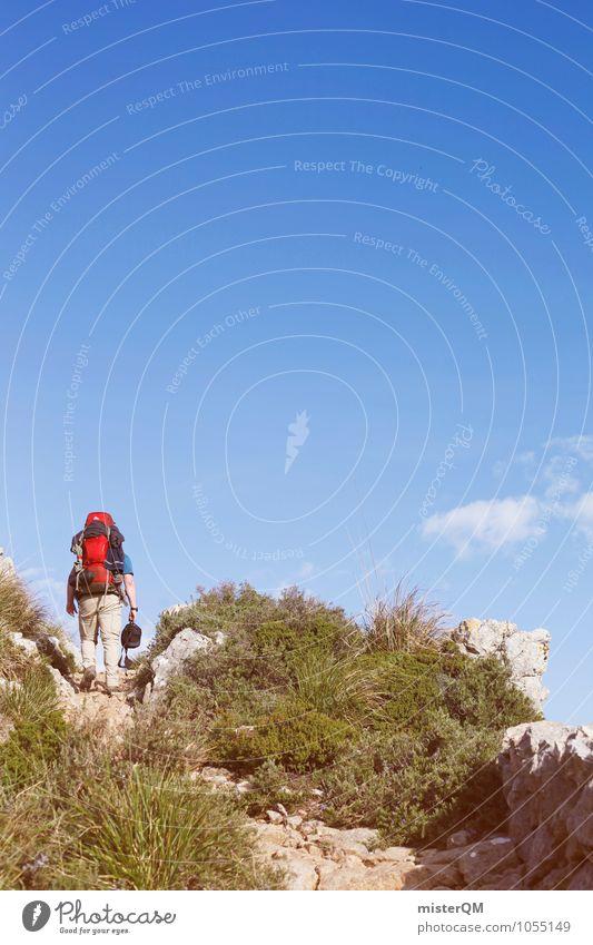 Krieger II Natur Pflanze Einsamkeit Landschaft Ferne Umwelt Berge u. Gebirge Wärme Reisefotografie Kunst Felsen wandern Klima ästhetisch Schönes Wetter Abenteuer