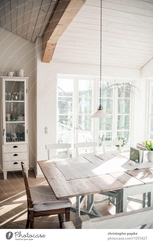 skandinavischer style II schön Innenarchitektur Stil Holz Lampe Lifestyle Wohnung Raum Häusliches Leben Design Dekoration & Verzierung elegant Tisch Möbel Wohnzimmer gemütlich