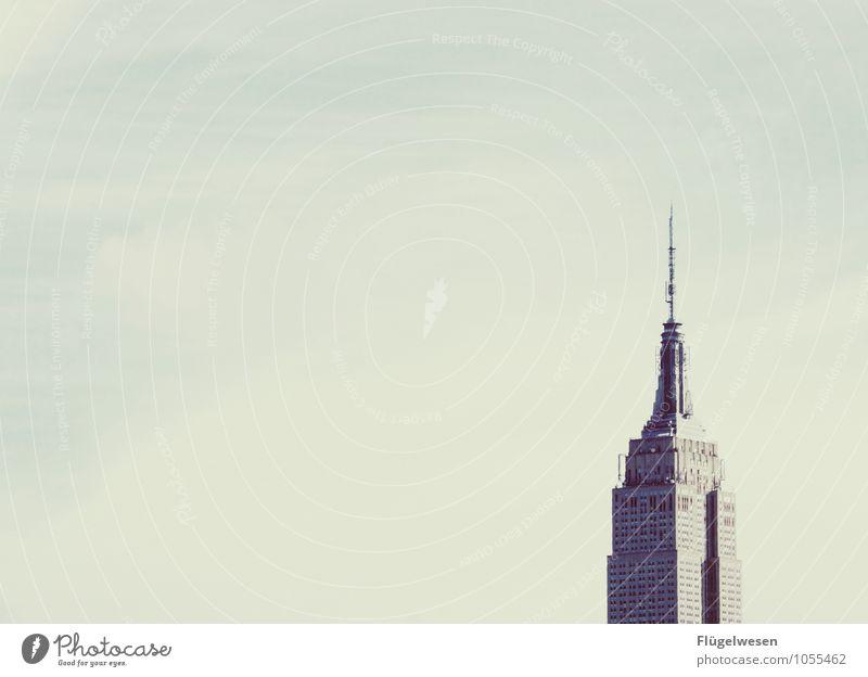 Empire State Building Ferien & Urlaub & Reisen Sightseeing Städtereise Stadtzentrum Fußgängerzone Skyline überbevölkert Hochhaus Bankgebäude Industrieanlage