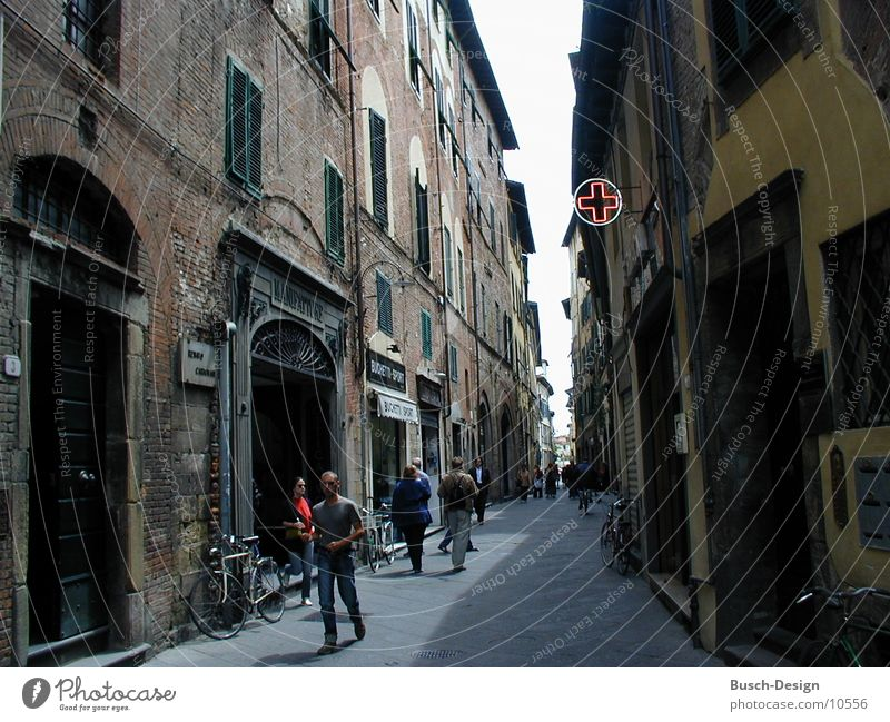 Apotheke Haus Architektur Italien