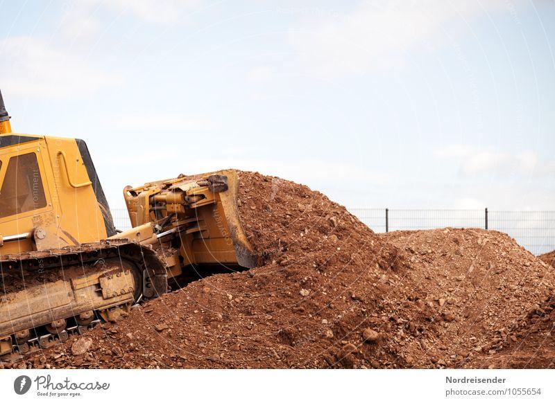 Spielplatz Arbeit & Erwerbstätigkeit Beruf Arbeitsplatz Baustelle Wirtschaft Güterverkehr & Logistik Werkzeug Maschine Baumaschine Technik & Technologie Erde