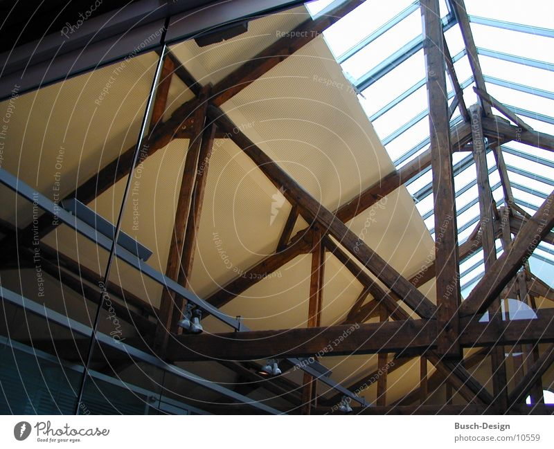 Gebälk Holz Architektur Dach Balken Restauration