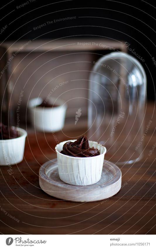 mousse au chocolat braun Ernährung süß lecker Süßwaren Schokolade Dessert Kalorienreich Mousse Mousse au chocolat