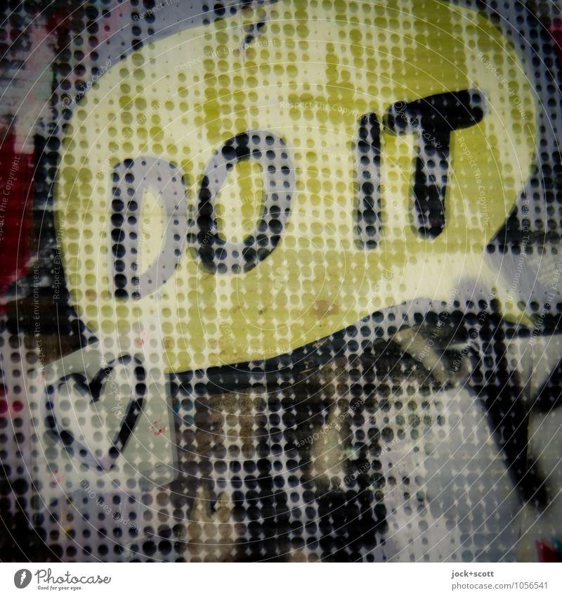 Do It For Love Freude Liebe sprechen Glück Fröhlichkeit Kreativität Kommunizieren Herz Lebensfreude Idee einzigartig Coolness Wunsch Glaube trendy Wort