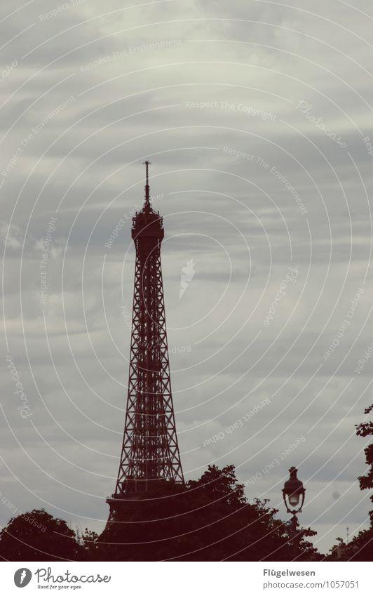 Pariser Ansichten 5 Sightseeing Städtereise Hauptstadt Skyline überbevölkert Bauwerk Gebäude Architektur Sehenswürdigkeit Wahrzeichen Tour d'Eiffel Fernweh