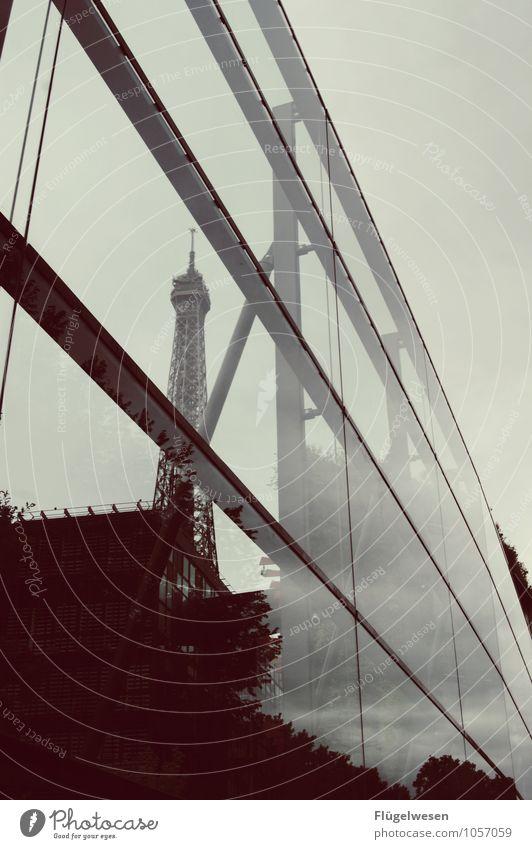 Pariser Ansichten 4 Architektur Gebäude Lifestyle Glas genießen Romantik Sehnsucht Bauwerk Skyline Fernweh Denkmal Hauptstadt Wahrzeichen Sehenswürdigkeit