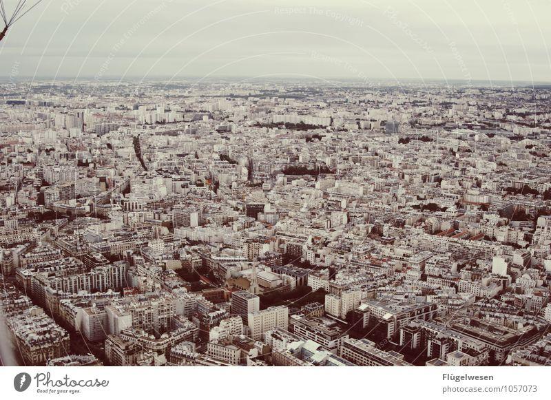 Pariser Ansichten 6 Hauptstadt Stadtzentrum Altstadt Skyline überbevölkert Haus Hochhaus Bankgebäude Kirche Bauwerk Gebäude Architektur Sehenswürdigkeit