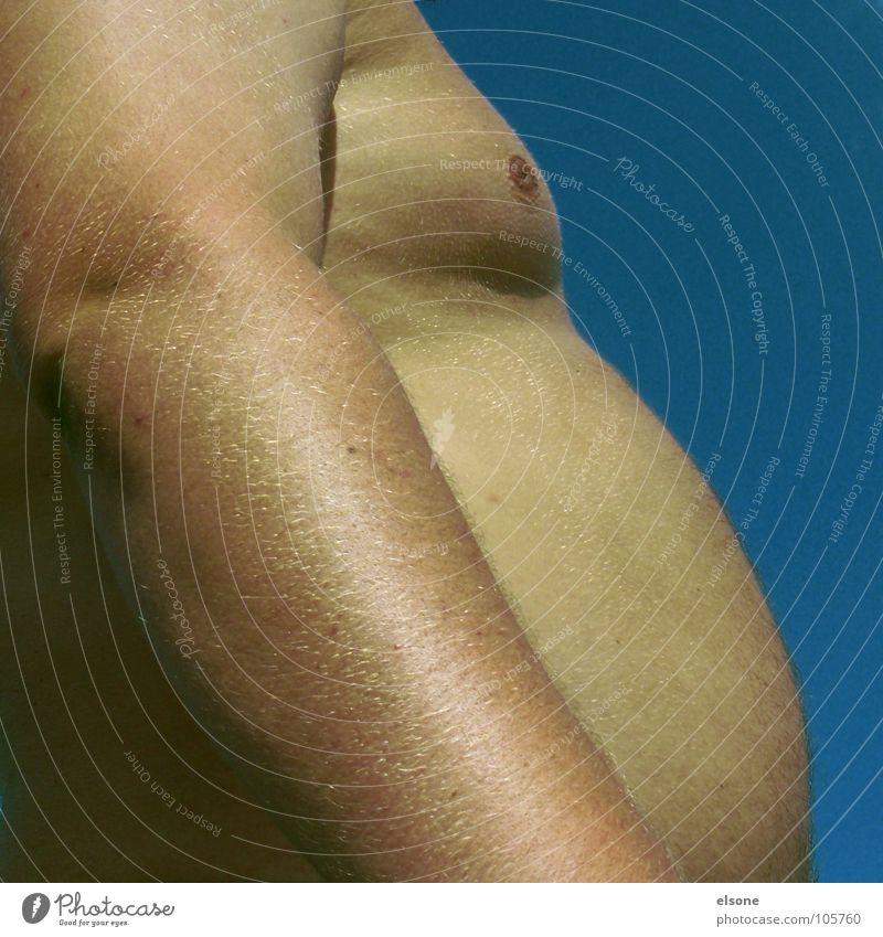 ::HUNGER:: Mensch Mann Körper Arme rund Übergewicht Brust dick Bauch voll Bildausschnitt Anschnitt ungesund breit Körperteile Gewichtsprobleme