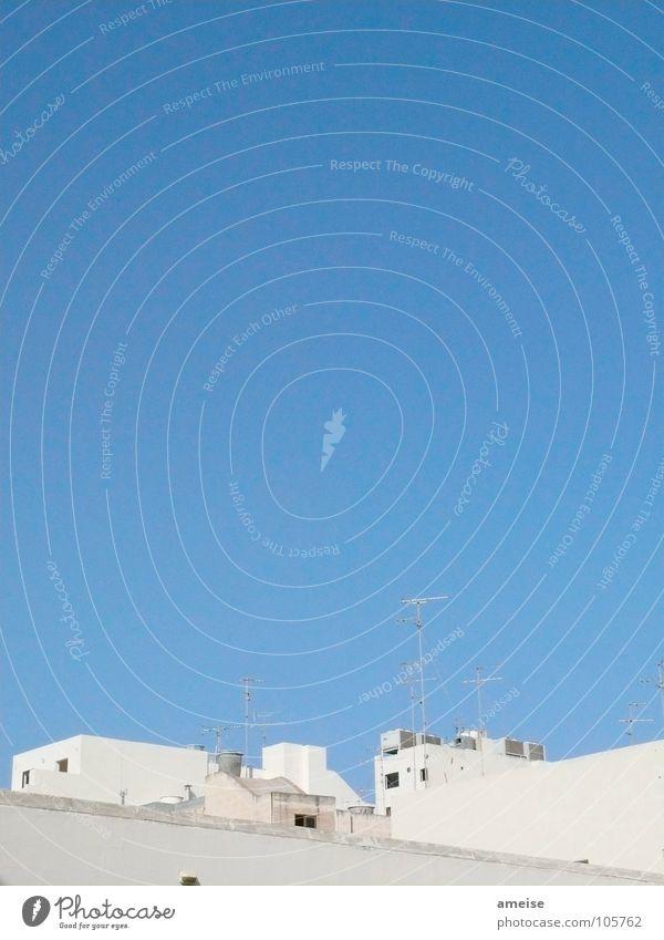 Urlaub auf Malta Sommer Ferien & Urlaub & Reisen Haus Schönes Wetter Süden Blauer Himmel