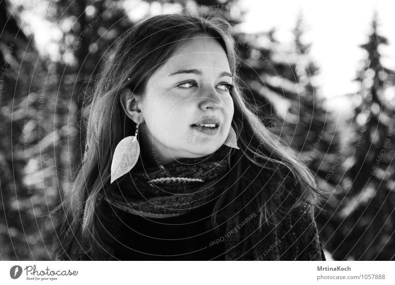 ljósið Mensch feminin Junge Frau Jugendliche Erwachsene 1 18-30 Jahre Gefühle Stimmung Freude Zufriedenheit Lebensfreude Vorfreude Tapferkeit Optimismus Kraft