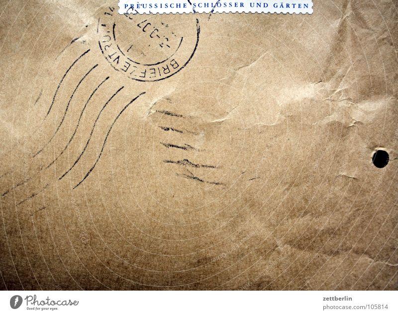 Post Brief Briefumschlag Sonderbriefmarken E-Mail Mitteilung Dienstleistungsgewerbe Datumsstempel Wellenlinie Medien briemarke postwertzeichen Zacken Baumkrone