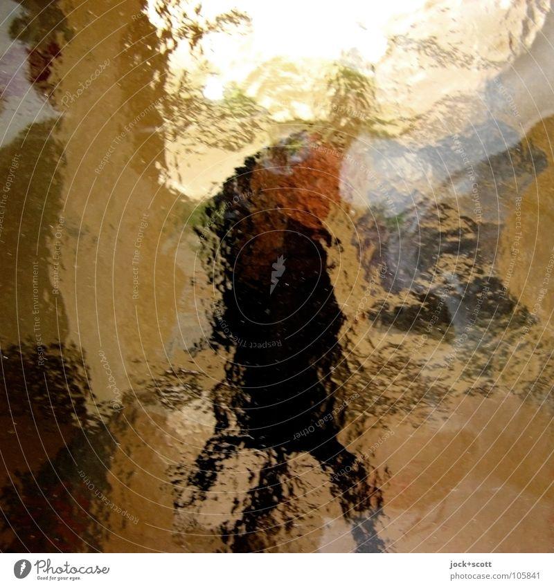 Fest vs. Weich Besucher Mensch Wärme Stimmung Bewegung Identität Surrealismus Wege & Pfade Färbung Tagtraum Grenze wahrnehmen Fußgänger Sinnestäuschung Illusion