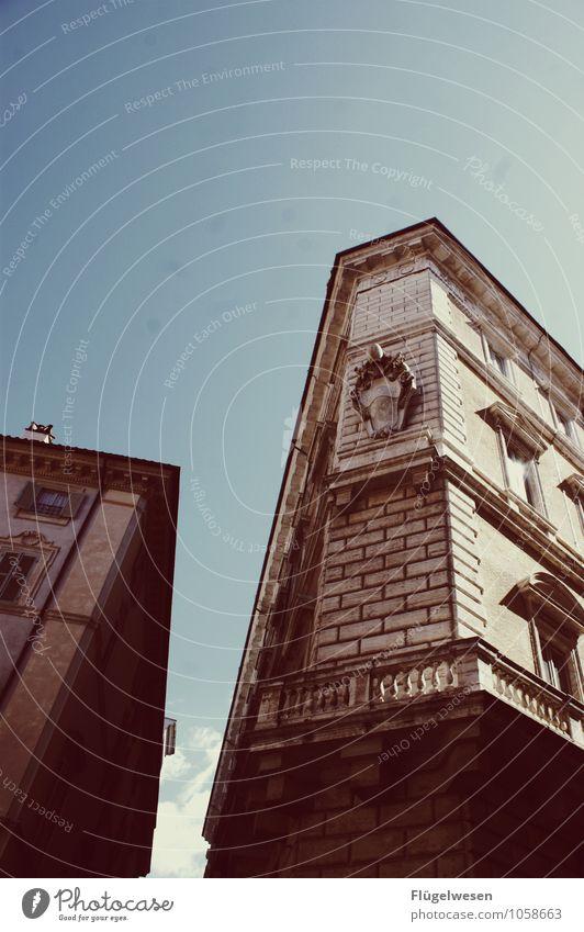 Di Roma Ferien & Urlaub & Reisen Architektur Gebäude Mauer Tourismus Ausflug Italien Abenteuer Bauwerk Verfall Wahrzeichen Denkmal Hauptstadt Stadtzentrum