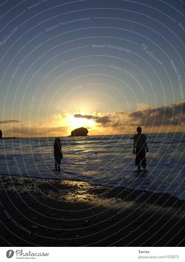 Augenblick Sonne Meer ruhig Freiheit Glück Wärme Unendlichkeit verträumt Momentaufnahme angenehm