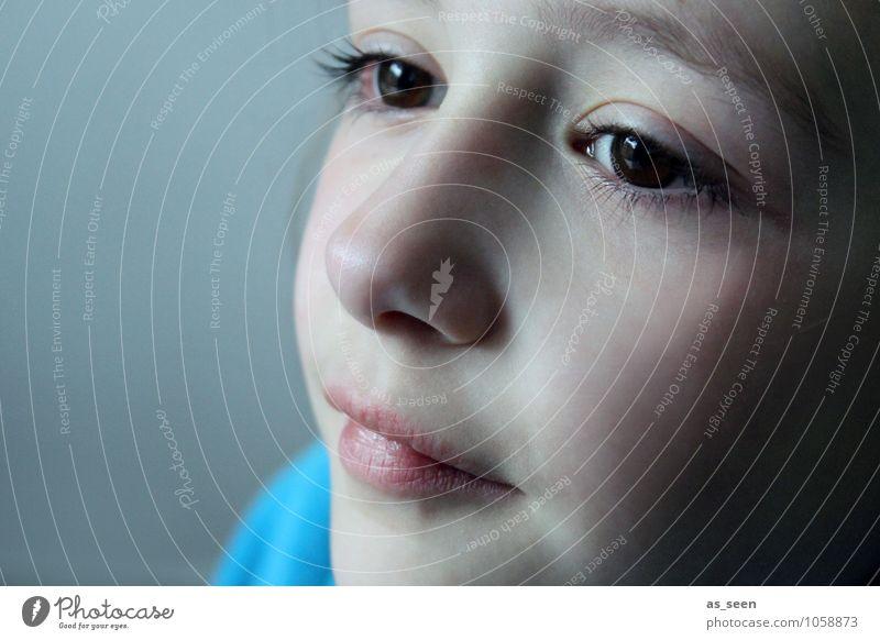 Hey little girl Mädchen Familie & Verwandtschaft Leben 1 Mensch 3-8 Jahre Kind Kindheit brünett Lächeln Blick ästhetisch authentisch Freundlichkeit natürlich