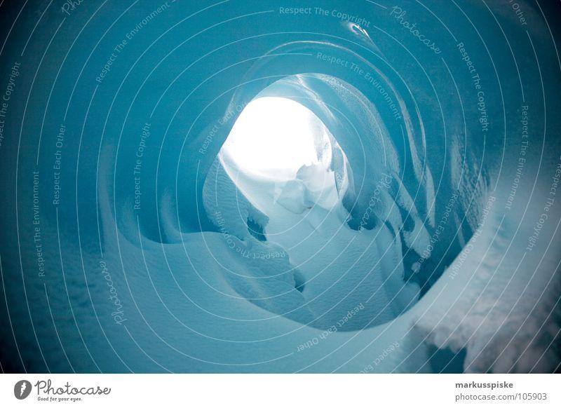 das ewige eis alt dunkel kalt Schnee Eis hell Schweiz gefroren Alpen Loch Kristallstrukturen Ewigkeit Gletscher massiv Urzeit Talgletscher