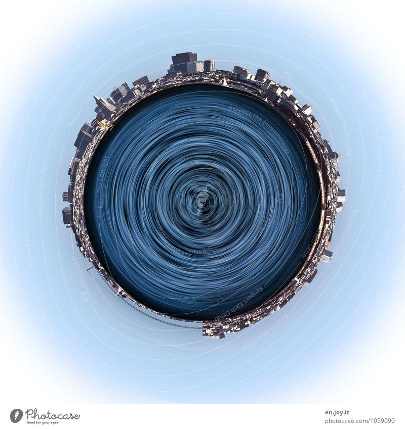 immer enger Ferien & Urlaub & Reisen Stadt blau Wasser Umwelt Erde Wachstum Tourismus Energie Klima Kommunizieren Zukunft rund Güterverkehr & Logistik Netzwerk