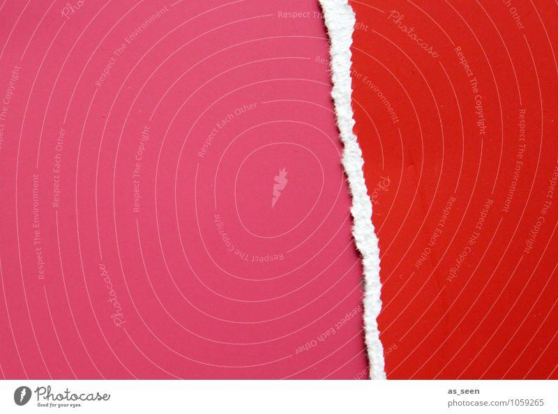 Leidenschaft Stil Design Kosmetik Basteln Valentinstag Kindererziehung Kindergarten Subkultur Wege & Pfade Papier Liebe Aggression ästhetisch Erotik wild rosa