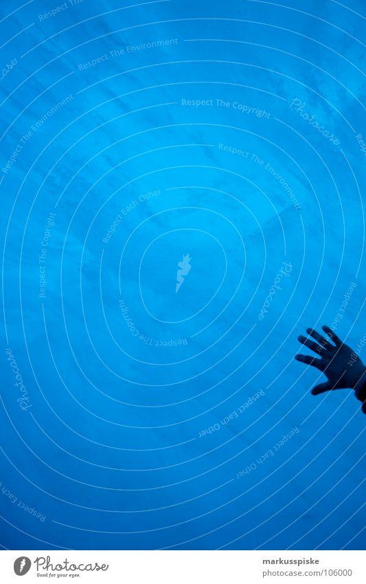 eingefroren Mensch alt Wasser Hand dunkel kalt Schnee hell Eis Schweiz Teile u. Stücke Ewigkeit gefroren Alpen Loch Gletscher