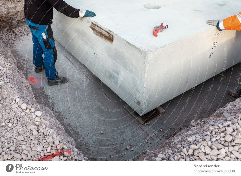 Letzte Korrekturen Architektur Stein Arbeit & Erwerbstätigkeit Beton Baustelle neu Bauwerk Beruf machen Arbeitsplatz bauen Bauarbeiter Handwerker Genauigkeit