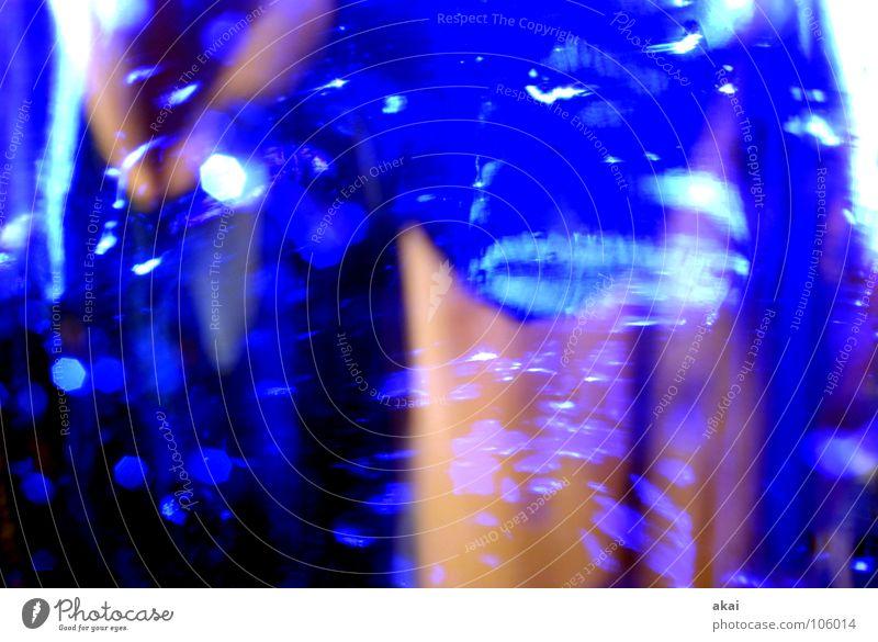 Prosecco blau Gastronomie Leidenschaft Flasche Alkohol krumm Bewusstseinsstörung Leber Opferung