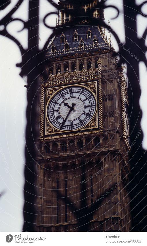 London Big Ben Architektur Turm Uhr England