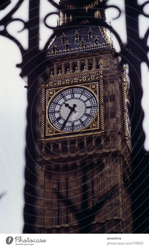 London Big Ben England Uhr Architektur Turm
