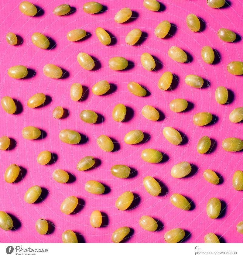 kernlos grün Farbe Essen Lebensmittel rosa Frucht ästhetisch Ernährung lecker skurril Weintrauben