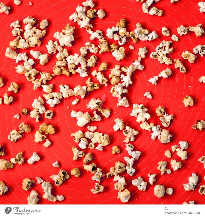 and the winner is Essen Lebensmittel orange Ernährung süß lecker Süßwaren Kino verschwenden gefräßig Hemmungslosigkeit Genusssucht Popkorn
