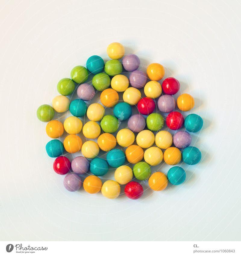 your brain is made of candy Farbe Freude Essen Lebensmittel frisch Fröhlichkeit ästhetisch Ernährung Kreativität einzigartig süß rund lecker Süßwaren Bonbon