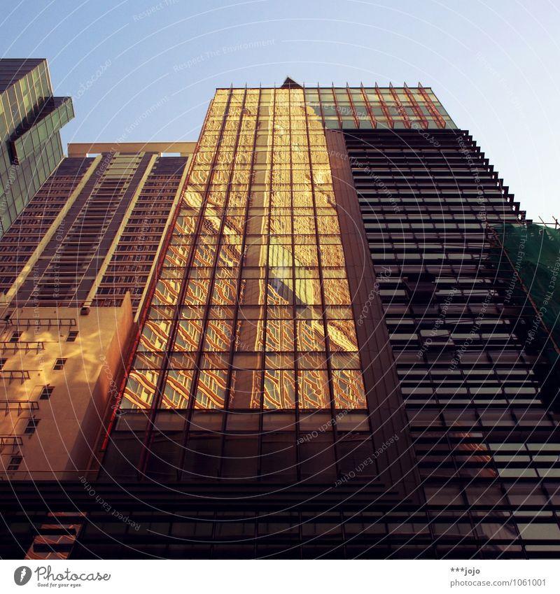 hong. Stadt Haus Fenster Wand Architektur Mauer Fassade Wohnung modern Glas Hochhaus hoch Beton Asien Skyline Stadtzentrum