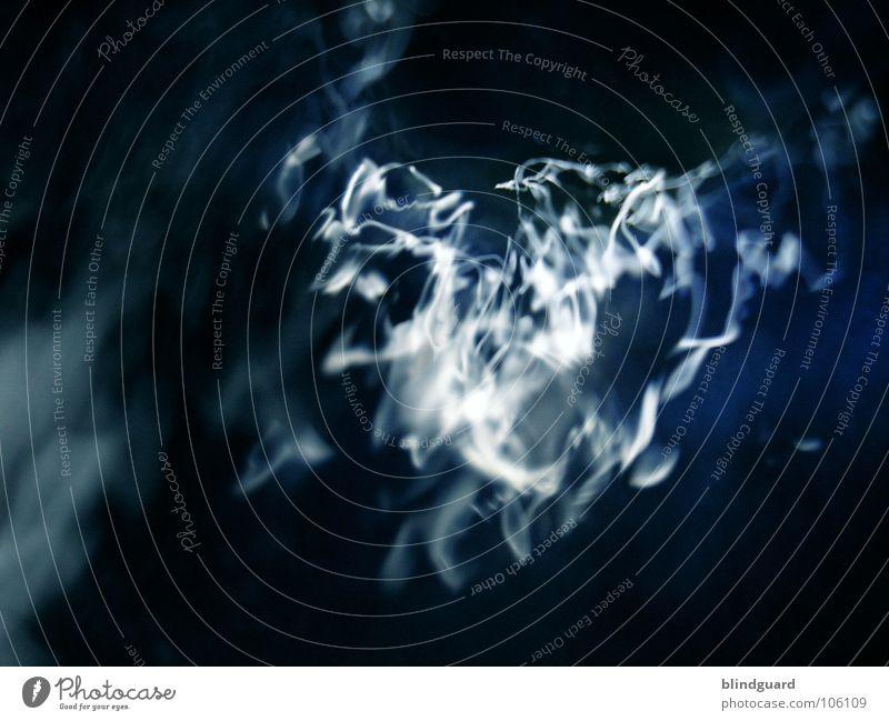 The Reflex (in Motion) Licht Reflexion & Spiegelung Hintergrundbild fließen weiß grün türkis verwaschen Brunnen Langzeitbelichtung abstrakt Gemälde Gefühle