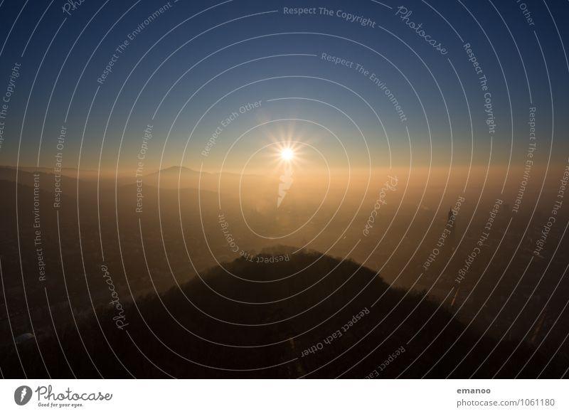 FR Himmel Natur Ferien & Urlaub & Reisen Stadt Landschaft Wolken Ferne Wald Berge u. Gebirge Freiheit Horizont Tourismus Wetter Luft Nebel hoch