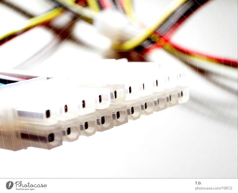Strom Elektrizität Kabel Technik & Technologie Informationstechnologie Elektrisches Gerät