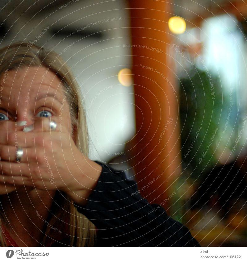 PC Treff Freiburg-Andrea Frau schön Freude Gesicht Stil Haare & Frisuren lustig planen blond Ziel Gastronomie Ring Nudeln Verstand Verabredung Nervosität