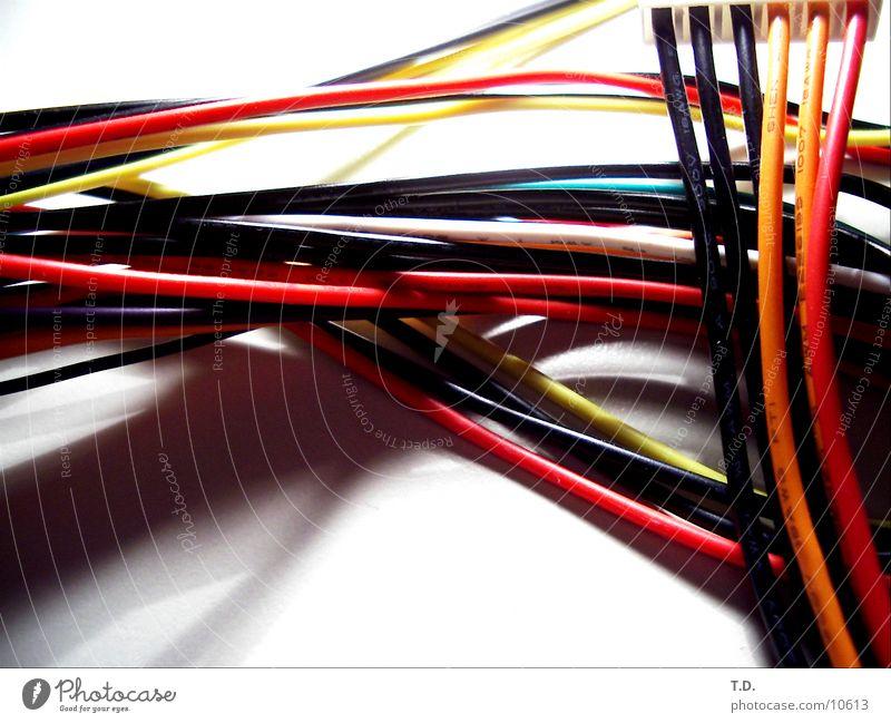 Kabelsalat Elektrizität Kabel Technik & Technologie Elektrisches Gerät