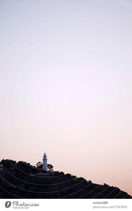 Fernlicht. Kunst ästhetisch Turm Mallorca Leuchtturm verträumt Urlaubsfoto Leuchtturmwärter