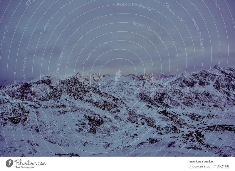 obertauern hundskogel plattenspitz Natur Ferien & Urlaub & Reisen Landschaft Wolken Ferne Winter dunkel Berge u. Gebirge Schnee Sport Felsen Horizont Eis bedrohlich Gipfel Frost