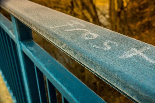 Frost - Frozen Natur blau Wasser Winter kalt Umwelt gelb Bewegung Herbst Gefühle Schnee Frühling natürlich Stimmung Schneefall träumen