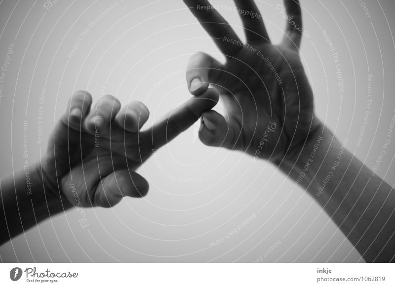 mit Fingerspitzengefühl Lifestyle sprechen Frau Erwachsene Mann Leben Hand 1 Mensch festhalten Kommunizieren Gefühle achtsam gewissenhaft Gelassenheit Schmerz